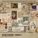 Vintage Ephemera - Grocery 2