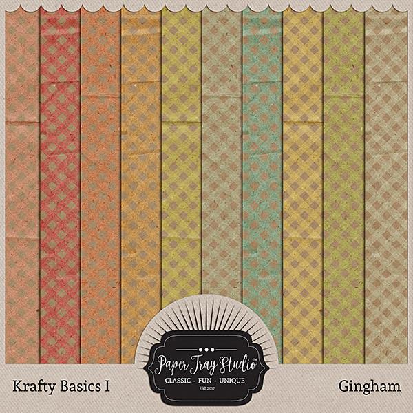 Krafty Basics I - Gingham