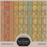 Krafty Basics II - Big Floral