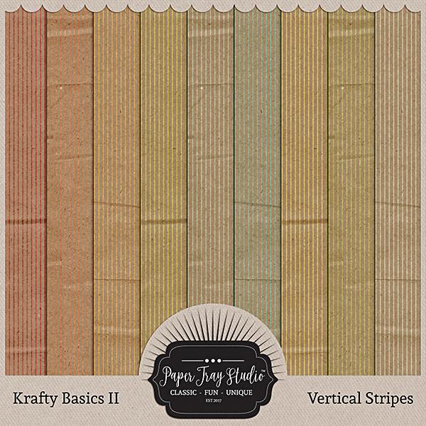 Krafty Basics II - Vertical Stripes