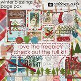 Winter Blessings Freebie Pak