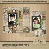 Vintage Ephemera Bundle