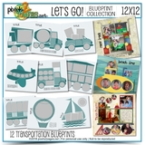 Let's Go Blueprint Collection (12x12)