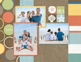 Beach Vacation 11x8.5 Predesigned Pages