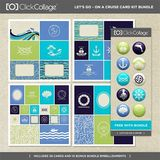 Let's Go On A Cruise Pre-designed Book And Card Kit Bundle