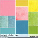 Josie Canvas Solids Paper Pack