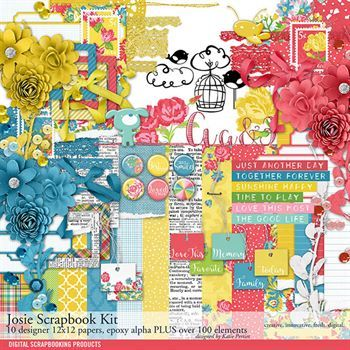 Josie Scrapbook Kit