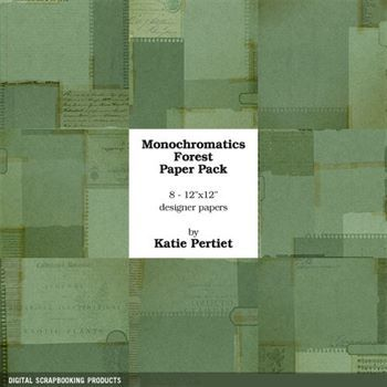Monochromatics Forest Paper Pack
