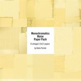 Monochromatics Maize Paper Pack