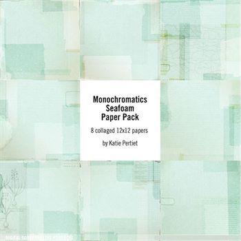 Monochromatics Seafoam Paper Pack