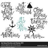 Sail Away Brushes And Stamps