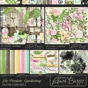 My Passion Gardening Bundle Fwp 2 Clusters