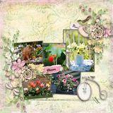 My Passion Gardening Scrap Kit