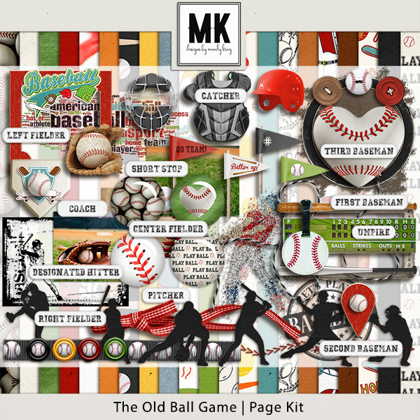 The Old Ball Game - Page Kit