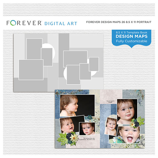 Forever Design Maps 26 8.5x11 Portrait