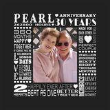 Milestones - Pearl Anniversary