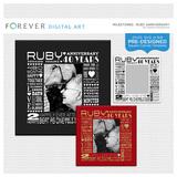 Milestones - Ruby Anniversary