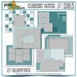 Classic Blueprint Collection 2015 - Quarter 1 (11x8.5)