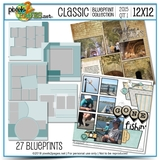 Classic Blueprint Collection 2015 - Quarter 1 (12x12)