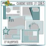 Classic Blueprint Collection 2015 - Quarter 2 (11x8.5)