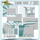 Classic Blueprint Collection 2015 - Quarter 3 (11x8.5)