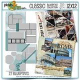 Classic Blueprint Collection 2015 - Quarter 4 (12x12)