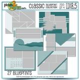 Classic Blueprint Collection 2015 - Quarter 4 (11x8.5)