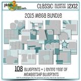 Classic Blueprint Collection 2015 Mega Bundle
