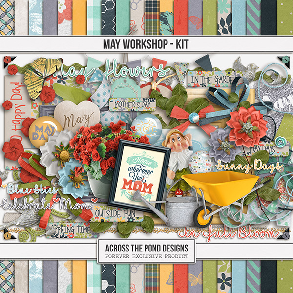 May Workshop - Page Kit