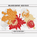 BBQ Lovers Snapshot - Messy Splats