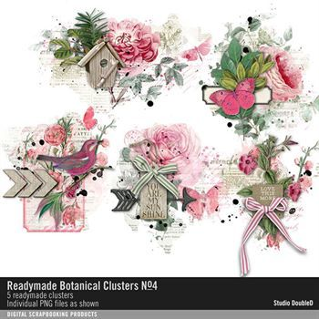Readymade Botanical Clusters No. 04