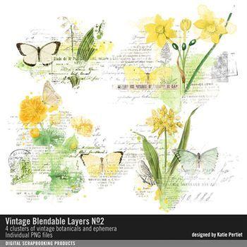 Vintage Blendable Layers No. 02