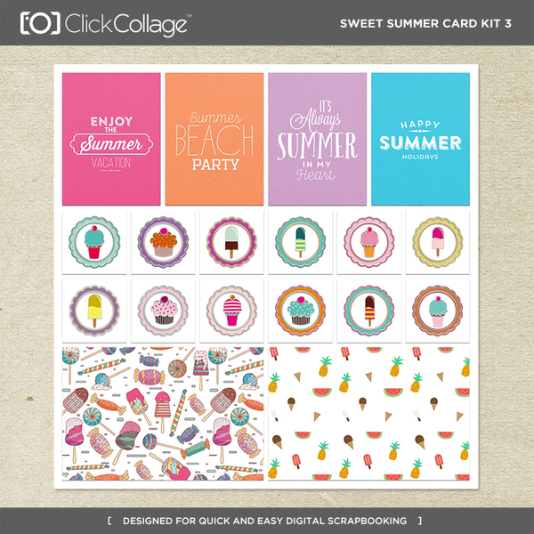 Sweet Summer Card Kit 3