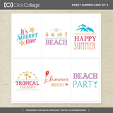 Sweet Summer Card Kit 4
