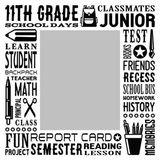 School Grades Subway Art - 11th Grade