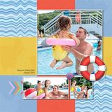 Water World Pre-designed Book 12x12