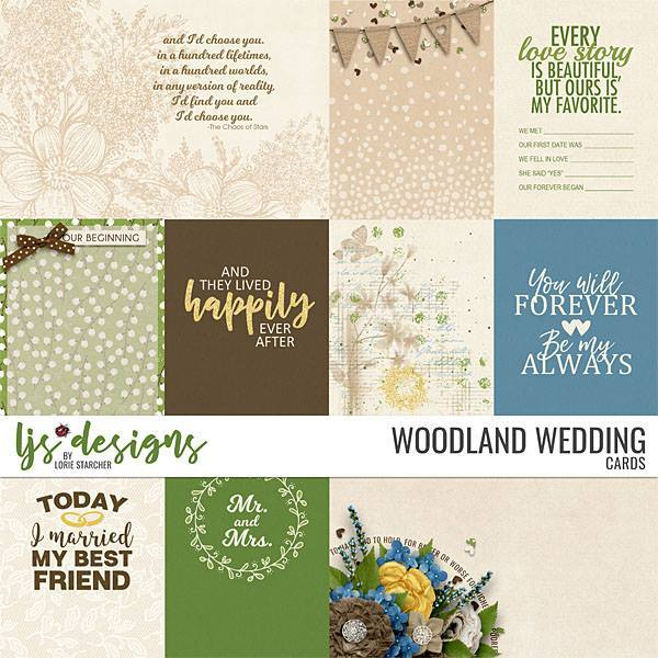 Woodland Wedding Cards