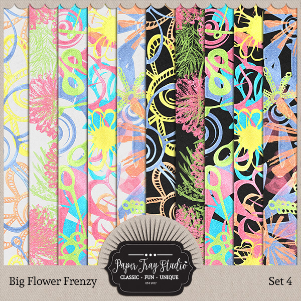 Big Flower Frenzy - Set 4