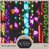 Black Light Papers - Set 1