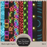 Black Light Papers - Set 2