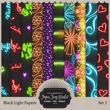 Black Light Papers - Set 3