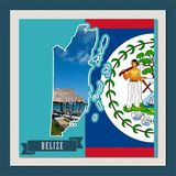Central America Mapped - Belize