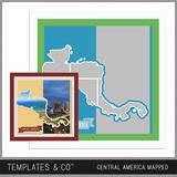 Central America Mapped - Central America