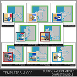 Central America Mapped - Complete Bundle