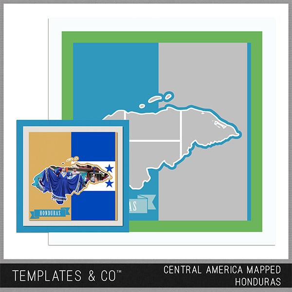 Central America Mapped - Honduras