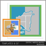 Central America Mapped - Nicaragua