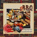 BBQ Lovers Snapshot - Woven Mattes