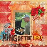 BBQ Lovers Snapshot - Page Kit