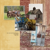 Past Times Pre Designed Book 12x12
