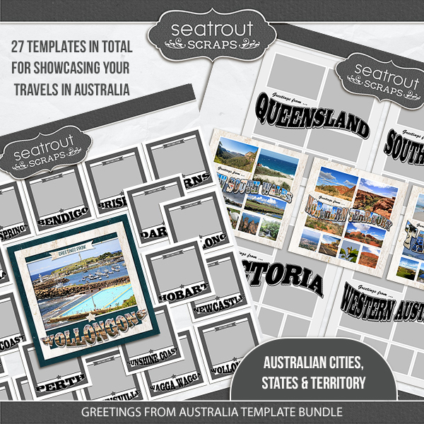 Greetings from australia template bundle digital art greetings from australia template bundle price 3400 m4hsunfo